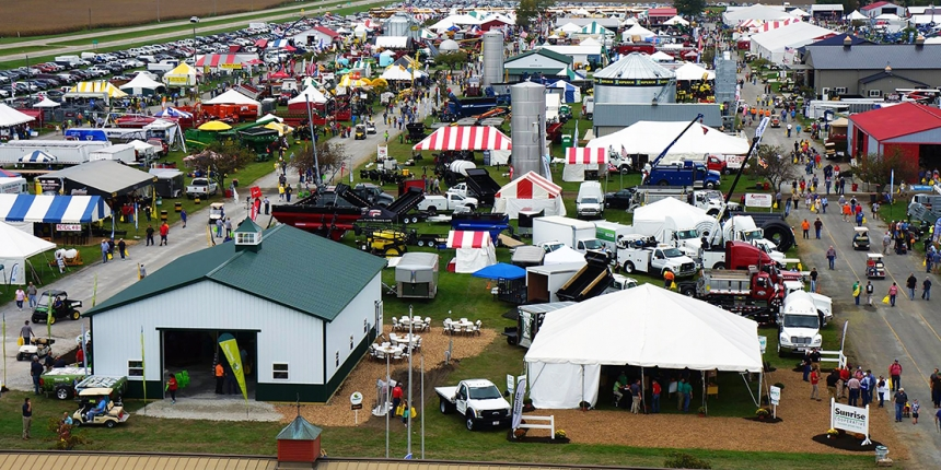Farm Science Review Larger Exhibit Area Easier Access Farm Science Review Livestock Exhibit Ohio State University Farm Equipment Workshops Presentations Demonstrations